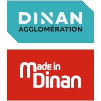 Logo Dinan Agglomération et Made in Dinan